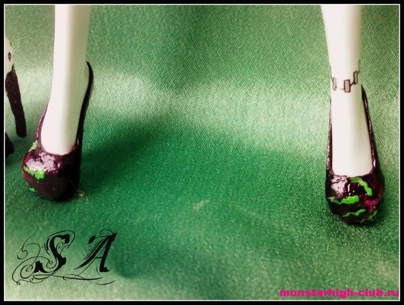 Как сделать обувь на куклу эвер афтер  377