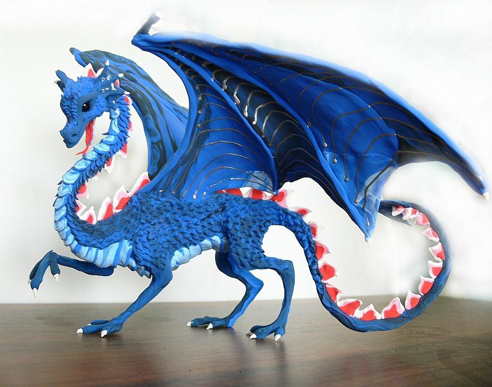 Делаем драконов своими руками